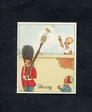 "J.Wix - 1936 - Henry - ""Playing Rings with British Guard Soldier"""