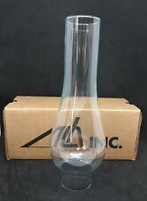 ALH Inc 2 X 10 Inch Glass Oval Bulge Chimney Kerosene Oil Lamp FW001