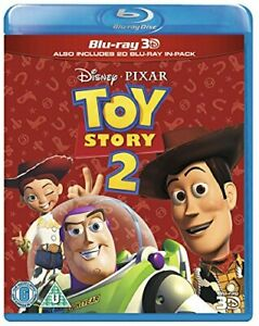 Toy Story 2 (Blu-ray 3D + Blu-ray) [Region Free] [DVD][Region 2]