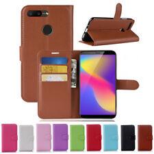 Luxury Flip Cover Stand Wallet PU Leather Case For ZTE Nubian V18 N3 Blade V9