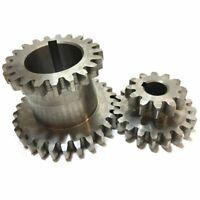 Cj0618 Teeth T29Xt21 T20Xt12 Dual Dears Metal Lathe Gear Duplicate Gear 2Pcs/Set