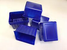 Einweg Schale Schalen 500 ml Servierbox Box Salatschale Kaltschale Plastik blau