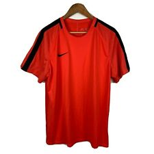 Nike Dri Fit Mens T Shirt Size Xl Light Red Short Sleeve Good Condition