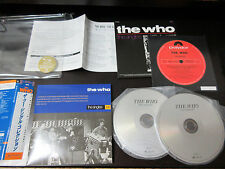 The Who Singles Japan Promo SHM Mini LP CD Pete Townshend MOD Paper Sleeve CD