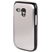 Hardcase Black Border für Samsung i8190 Galaxy S3 Mini Silber Case Schutzhülle