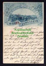 119759 AK Pforzheim 1897 Künstlerkarte mit Wappen