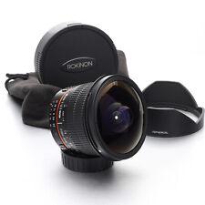 Rokinon Fish-Eye 8mm F/3.5 UMC CS II MF Lens for Nikon