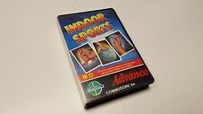 * Commodore 64 VERY RARE Game * INDOOR SPORTS * C64