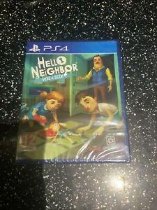 PLAYSTATION 4 PS4 GAME Hello Neighbor Hide & Seek NEW & SEALED