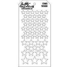 Tim Holtz Stampers Anonymous STARS Stencil  THS008  new