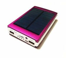 30000mAh Dual USB Portable Solar Battery Charger Power Bank  Cell Phone pink