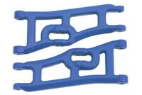 NEW RPM Traxxas E-Rustler & Stampede 2wd Wide Front A-arms Blue 70665