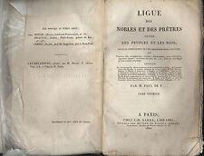 Ligue des nobles et des pretres contre les peuples et les rois 1820 Barba 2T
