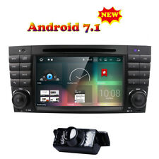 4-Core Android 7.1 Car Stereo DVD Radio GPS for Mercedes Benz C Class W203+Cam