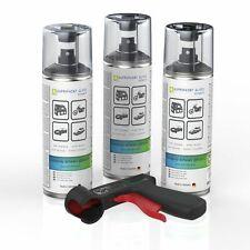 3x Lackspray schwarz glänzend AUPROPAINT GLOSS Auto Lack Spray 400ml + PG
