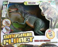 Dino Planet Remote Control Velociraptor R/C Walking Dinosaur Toy with Shaking...