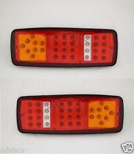 2x 12v LED Trasero Lámparas DE LAS LUCES PARA EL CARRO MERCEDES VW FIAT IVECO