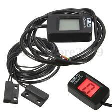Universal Red LCD Digital 6 Gear Indicator Motorcycle Display Shift Lever Sensor