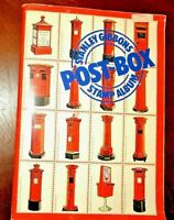CatalinaStamps: Stanley Gibbons Post-Box Stamp Album w/319 Stamps, Lot E92