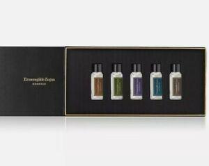 Ermenegildo Zegna Essenze 5 Piece Eau De Parfum Box Set 5 X 0.34 Oz Bottles