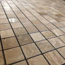 Small Travertine Square Mosaic Tiles $11.50 per sheet floor / wall / bathroom