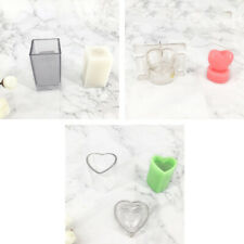 Clear Plastic Candle Making Model Candle Moulds Diy Candle Soap Craft Tools