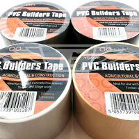 50mm EXTRA WIDE SELF ADHESIVE PVC BUILDERS ELECTRICAL TAPE - VARIOUS COLOURS