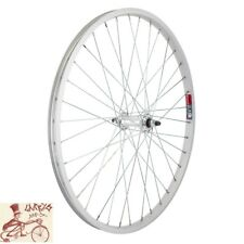 "WHEEL MASTER  24"" x 1.75""  ALLOY SILVER BICYCLE FRONT WHEEL"