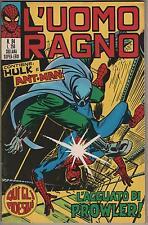 L' UOMO RAGNO corno # 94  L' AGGUATO DI PROWLER !  hulk ant-man sub-mariner