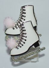 BATH BODY WORKS SHIMMERING GLITTER ICE SKATES PINK POM WALLFLOWER PLUG IN HOLDER