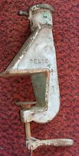 Antique Vintage Pexto Roller Table Clamp Stand 977 2 Sheet Metal Bead
