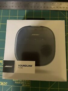 Bose soundlink micro bluetooth portable speaker Dark Blue New Sealed.