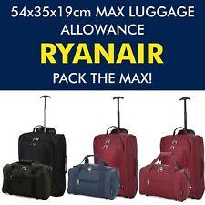 5 Cities Ryanair Massima Cabina Trolley Bagaglio E Carry On Cabina Borsa Set