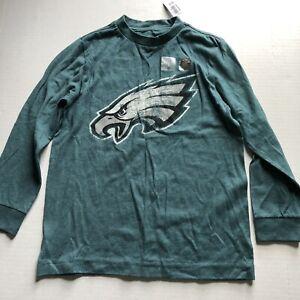 Philadelphia Eagles Green Long Sleeve T-Shirt Old Navy Boys Sz S New A1678
