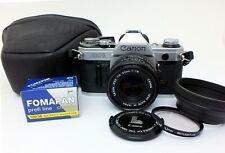 ✮ Canon AE-1 mit FD 50mm f/1.8  Objektiv, Werkstattüberholt // Händler!