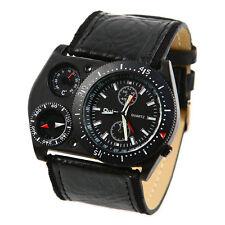 OULM Herren Military große Runde Quarz-Armbanduhr (Black Face) GY