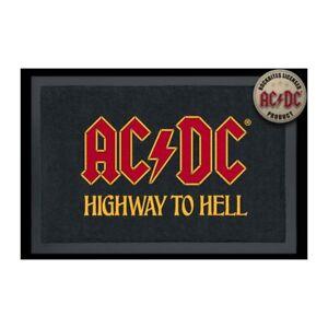 Foot Mats/Carpet - AC/Dc - Logo Highway To Light (15 11/16x23 5/8in) 100817