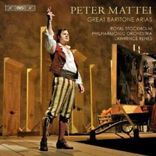 Peter Mattei - Great Baritone Arias [New SACD]