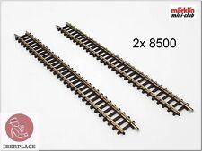 Rail droit 110 mm Z Märklin 8500