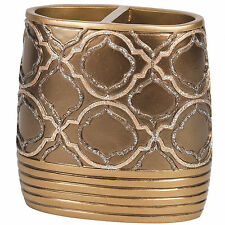 Popular Bath Spindle Gold Collection Bathroom Toothbrush Holder
