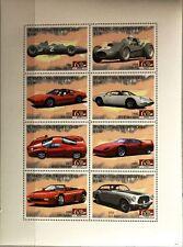 ST VINCENT 2007 Klb 6381-88 Ferrari Automobile Sports Cars Sportwagen Autos MNH
