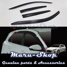 Smoke Door Window Vent Visor Deflector for 18+ Hyundai Elantra GT