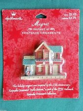 HALLMARK FRIDGE MAGNET HALLS TRAIN STATION (INSPIRED BY 1998 ORNAMENT)-NOC