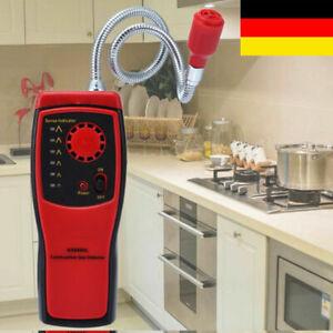 Gasdetektor Gaslecksuchgerät Gasmelder Methan Erdgas Leck Analyse Alarm Tester