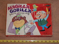 Rare 1965 Hanna Barbera Magilla Gorilla Follow The Colors Magic Rub-Off Whitman