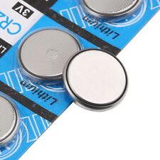 5 x Li-ion 3V CR2032 DL2032 ECR2032 5004LC 3 Volt Button Cell Battery