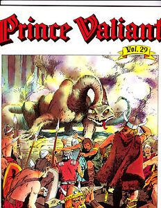 "Prince Valiant Vol 29-1986-Strip Reprints Soft Cover-""Demons1st Print! """