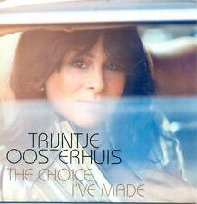 TRIJNTJE OOSTERHUIS - The choice I've made 1TR DUTCH ACETATE PROMO CD 2015