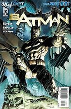 NEW DC 52 BATMAN #2 1:25 JIM LEE VARIANT COVER!