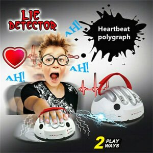 Test Truth Dare Toys Polygraph Shocking Liar Micro Electric Lie Detector Games